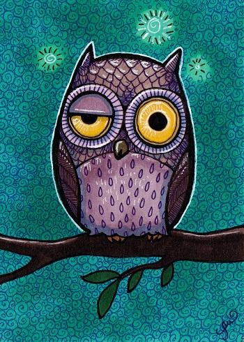 Woozy Owl