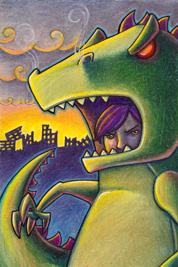 Grumpasaurus Rex