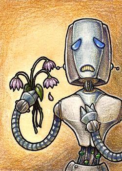 Gary the Sad Robot